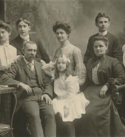 William T Holman and family, Priaulx Library Collection