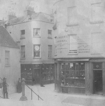 Commercial Arcade circa 1903, Priaulx library Collection
