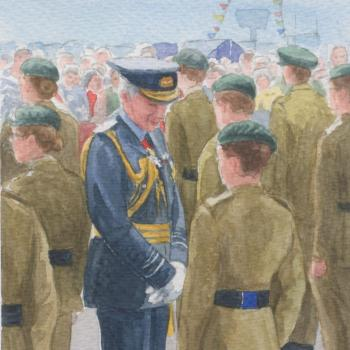 Valerie Baines' Lieutenant-Governor's Inspection 2011, Priaulx Library Collection
