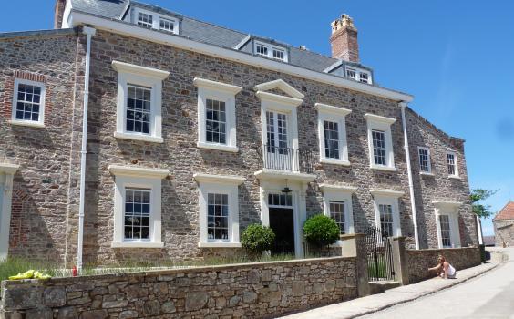 Les Mouriaux House, Alderney
