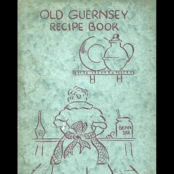 Old Guernsey Recipe Book c 1950 in the Priaulx Library Collection