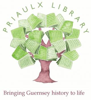 Priaulx Library book tree logo