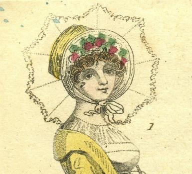 Fashion July 1807 from Priaulx Library Collection