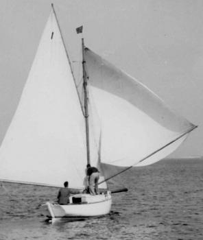 The yacht 'Naughty Girl' from the Priaulx Library Collection