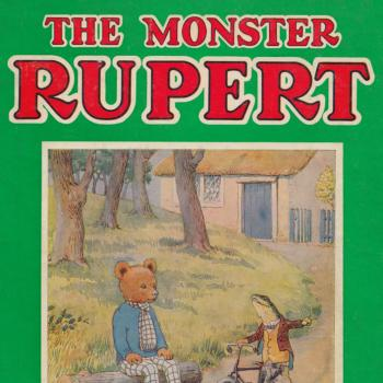 Priaulx Library collection, The Monster Rupert 1948 by Mary Tourtel