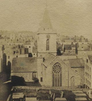 Town Church Guernsey 1870 in Priaulx Library Collection