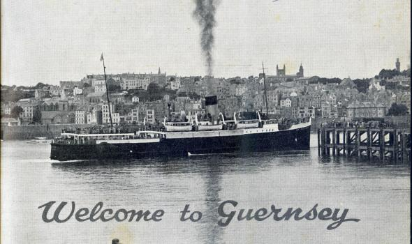 Frontispiece photograph from 1952 Guernsey Tourist Brochure (c) The Priaulx Library
