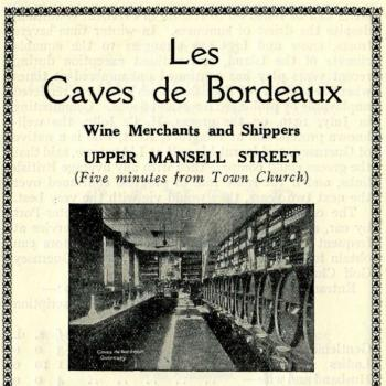Les Caves de Bordeaux from a 1934 tourist brochure