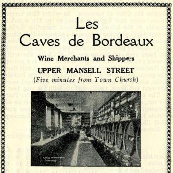 Les Caves de Bordeaux from a 1934 tourist brochure