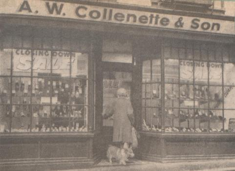 Collenette's shoe shop 1969, Priaulx Library collection