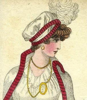 Winter fashion 1801 from Priaulx Library Collection