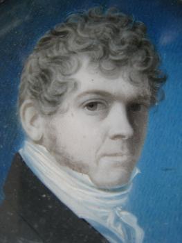 Matthias Finucane: self-portrait, detail, private collection