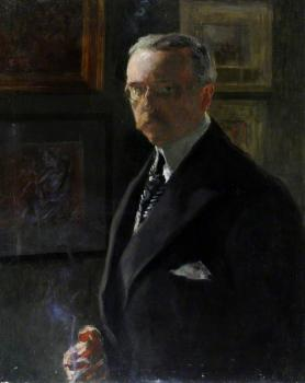 Self-portait of Georges Victor-Hugo (c) Candie Museum, Guernsey