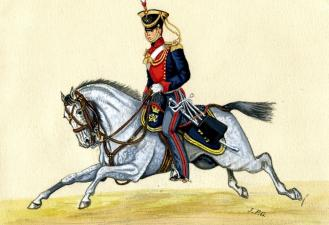 Trooper, Royal Guernsey Calvary, 1814