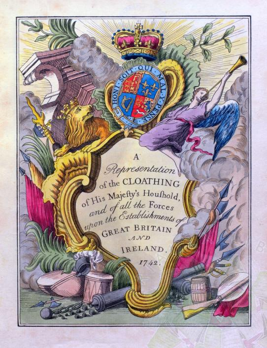 Cloathing of the British Army collection of Priaulx Library Guernsey