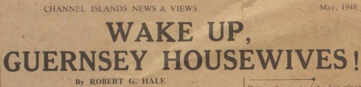 Channel Island News and Views, newspaper from Priaulx Library Collection 1948