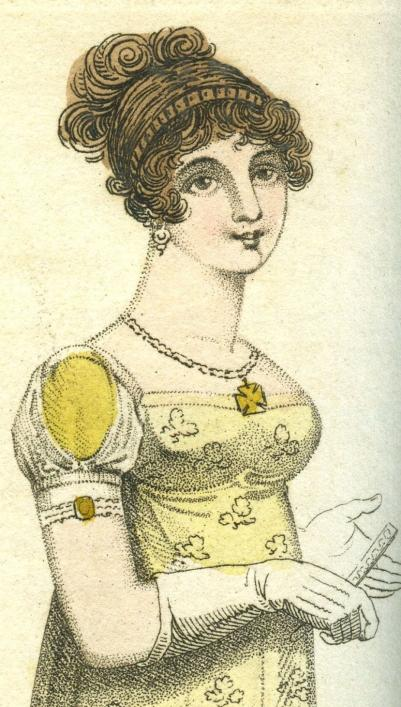 Fashion plate from 1807 Priaulx Library Collection