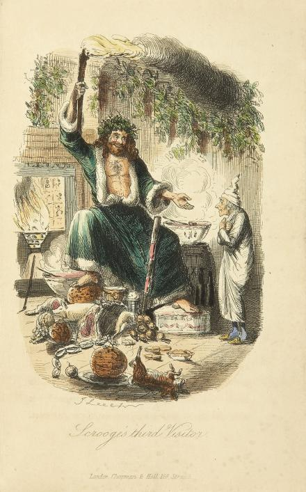 Christmas Carol, Charles Dickens, Priaulx Library, Guernsey