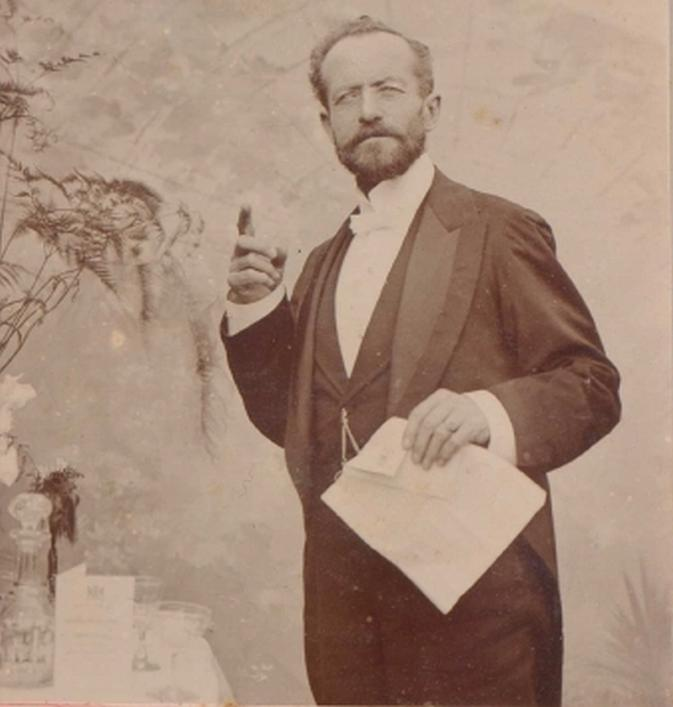 Henry Turner 1899, Dreyfus Scrapbook. Priaulx Library Collection