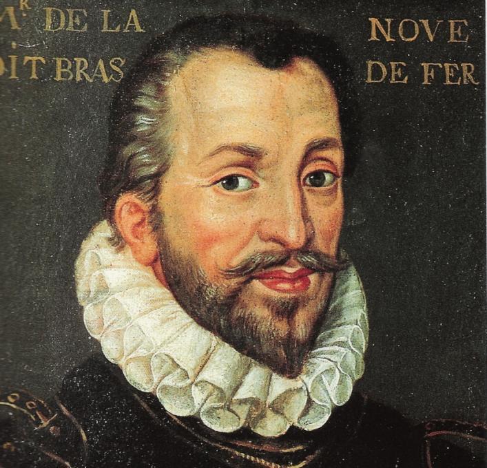 Francois de la Noue from the BNF via Wikipedia Commons