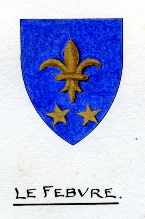 Le Febvre Family Shield, Guernsey