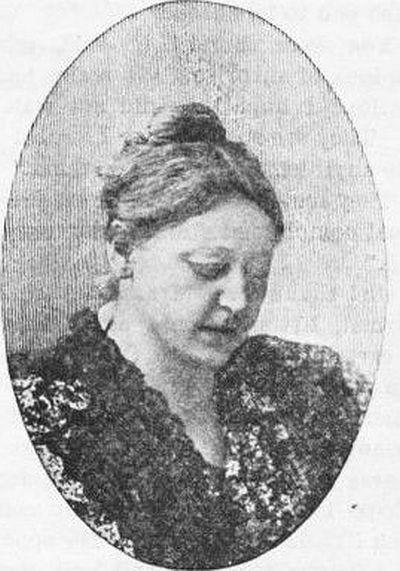 Mrs Theodora Lane Clarke Teeling (1851-1906) from the Sacred Heart Review 1902
