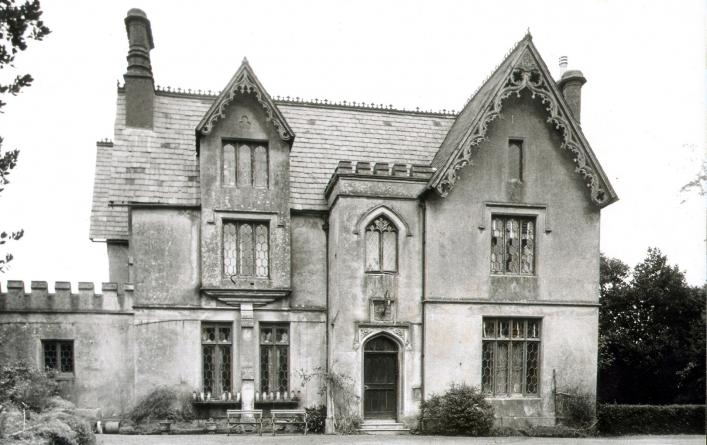 Newlands, the Harvey house, from the Priaulx Library Collection