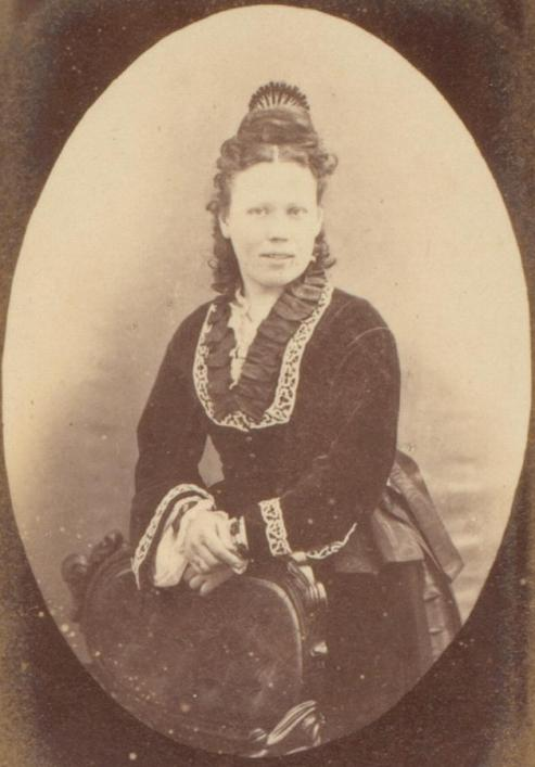 Unidentified woman photo Maguire, Priaulx Library Collection
