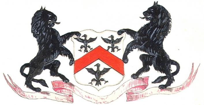 Blondel coat-of-arms from Priaulx Library Collection