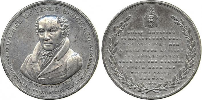 Daniel de Lisle Brock and the Corn Bill, 1835