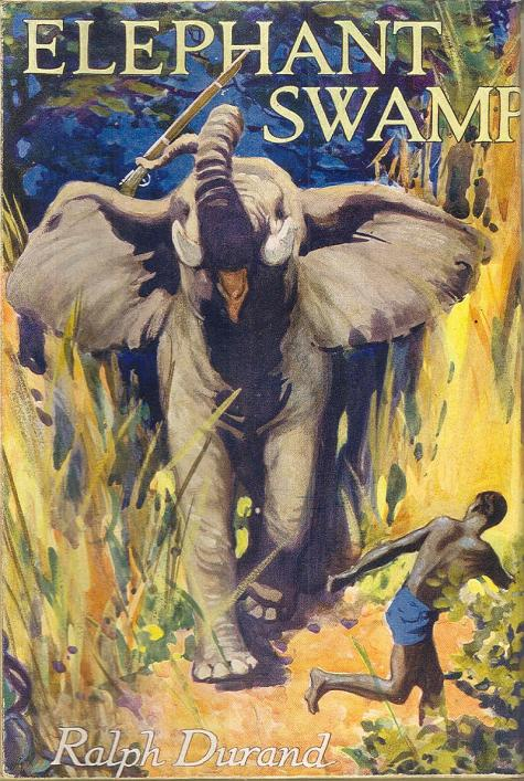 Ralph Durand's 'Elephant Swamp,' cover, from the Priaulx Library Collection