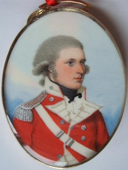 Frederick Barlow of the South Gloucestershires, by Buck, collection Museum of the South Gloucestershire Regiment