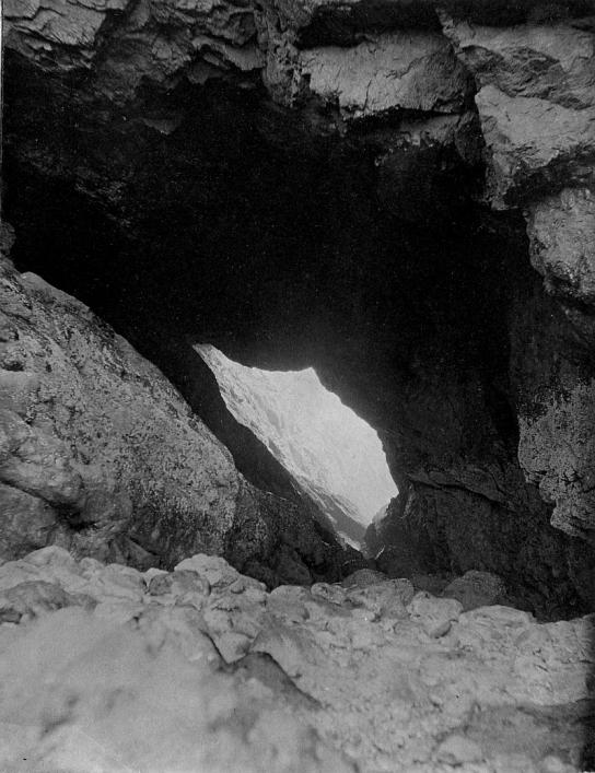 Gouliot caves, Sark, from the Priaulx Library Collection