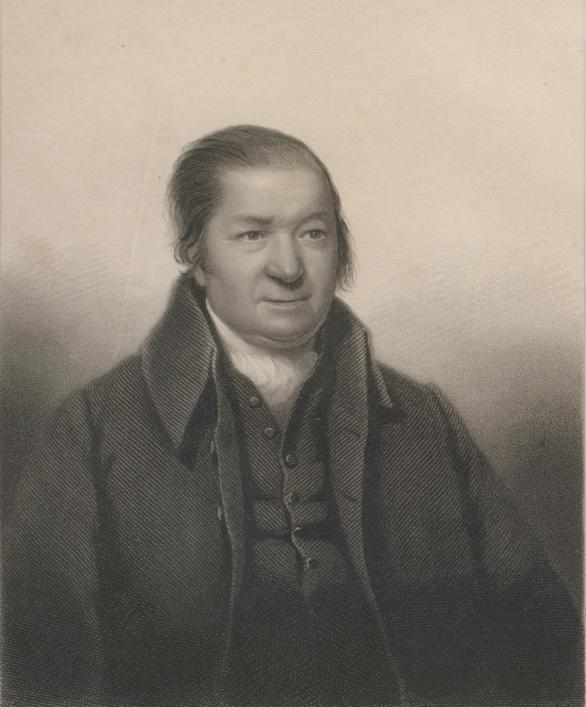 The Reverend Jean de Queteville from the De Jersey, H, Vie du Rev. Jean de Quetteville &c, 1847, Priaulx Library Collection