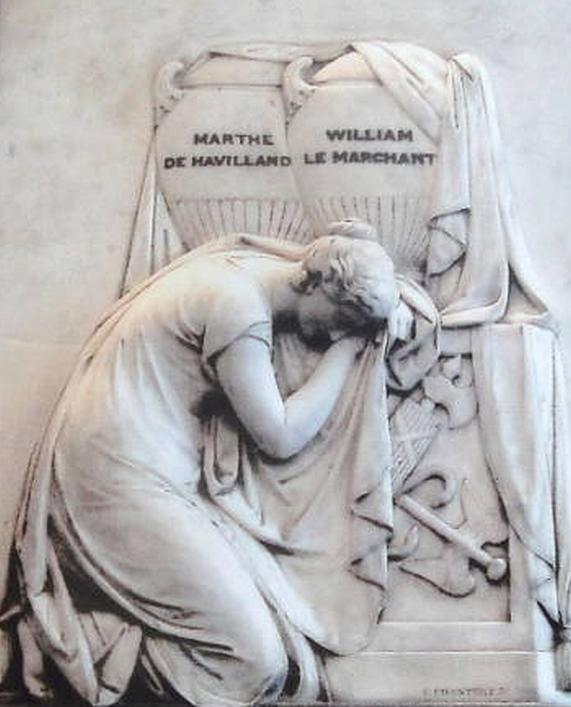 Le Marchant Memorial, Town Church, Guernsey