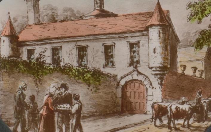 Haye du Puits, Castel, in the 1830s by Celia Montgomery, Priaulx Library Collection