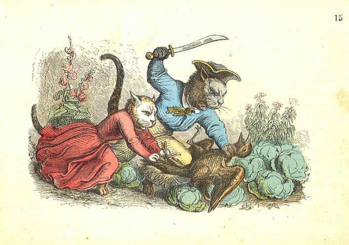 Pussy's road to ruin, from the Priaulx Library Collection