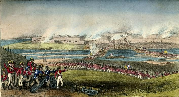 Siege of Seringapatam by the Sutherland Highlanders from the Priaulx Library Collection
