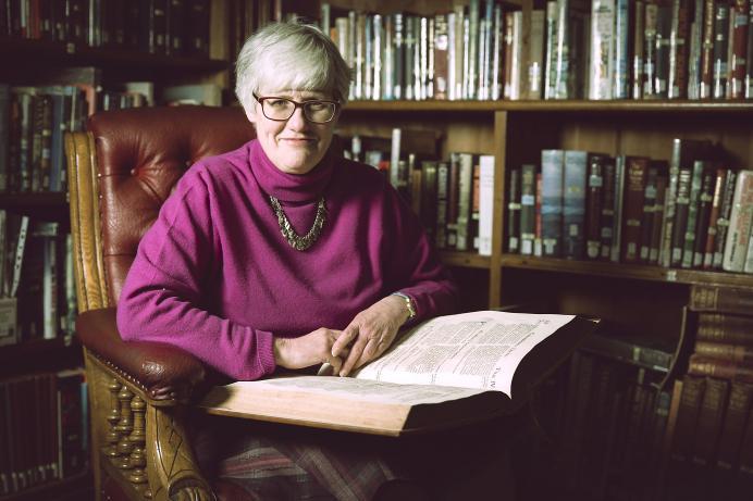 Sue Laker. Priaulx Library, Guernsey