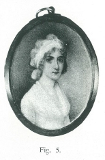 Finucane portrait miniature lady in bandeau c 1785