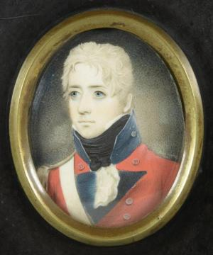 Finucane Officer in teh 39th Regiment of Foot, Guernsey, 1805