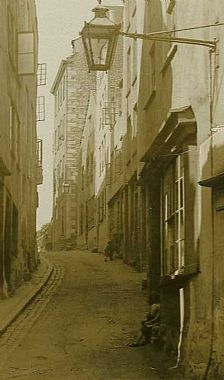 Looking up Cornet Street 1929, Priaulx Library Collection