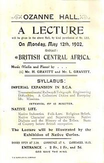 A lecture delivered in Guernsey in 1902