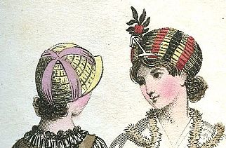 Letters and fashion plates from the time of Jane Austen