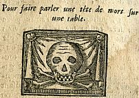 How to make a skull on a table appear to talk: from Les Secrets des Secrets