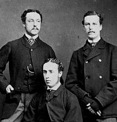 "Jasper, Basil, and Jimmy, ""The Tupper Brothers"", from the Library Collection"