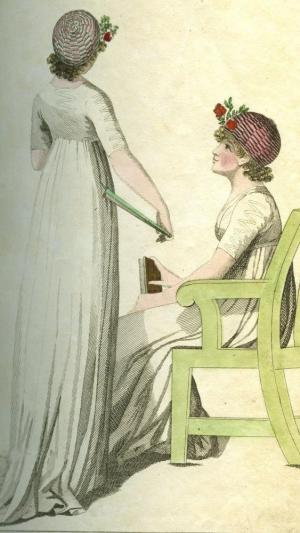 Fashion from October 1798 from the Library collection