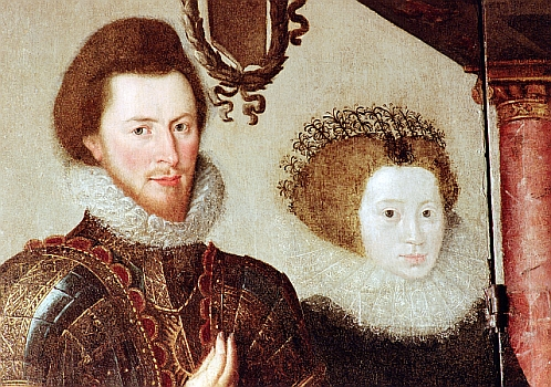 John St John and Anne Leighton, courtesy Lydiard Tregoze