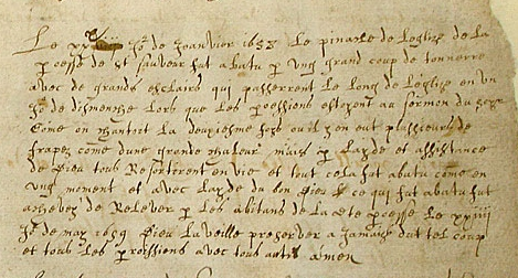 Extract from St Saviour's baotismal register, Guernsey, Priaulx Library